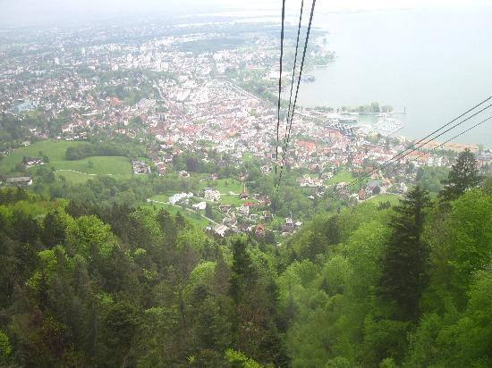 Pfaenderbahn: The view...