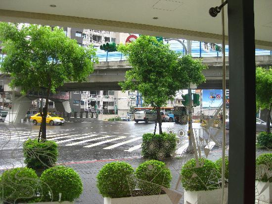 Ambience Hotel: Blick aus der Lobby