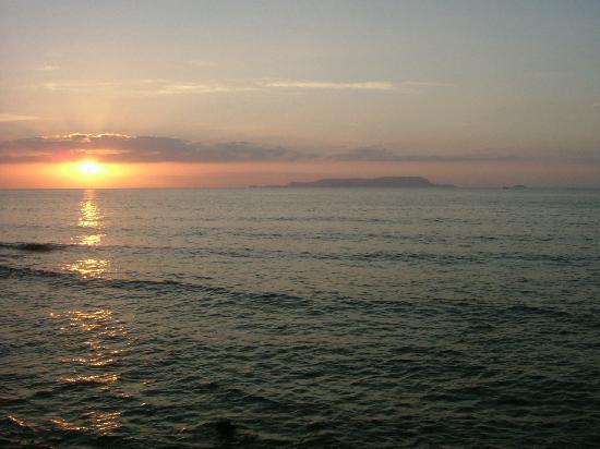 Stella Palace Resort & Spa: Stunning view of the sunset