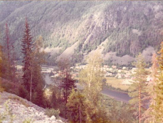 Dalen i Telemark: Dalen dall' alto