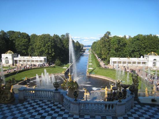 Russia: St Petersburg - Peterhof