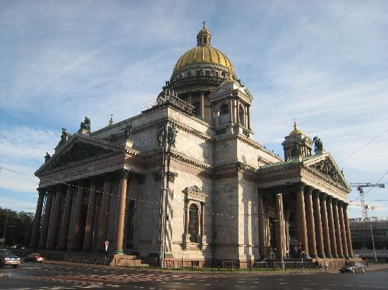 Rusia: St Petersburg St Isaac Cathedral