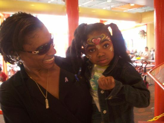 Sesame Place : After face Painting