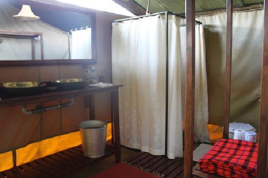 Mara Siria Camp: die Badezimmer