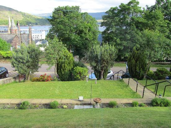 Ardmory House : Wonderful view from the front door over Loch Linnhe