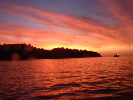 Phang Nga, Thailand: Sonnenuntergang