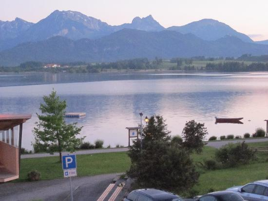 Hopfen am See, Alemanha: view from our room