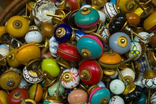 Colorful doorknobs - Picture of Better Travel Photos, Paris ...