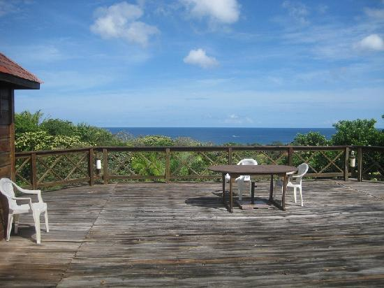 Roatan Bed & Breakfast Apartments: Rooftop Terrace for the sun-seekers!