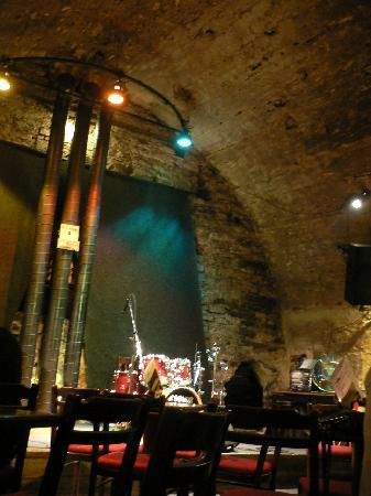 Red Brick Interior Picture Of Agharta Jazz Club Prague Tripadvisor