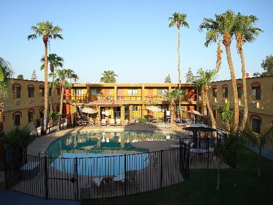 Goodyear, AZ: l'hôtel au petit matin