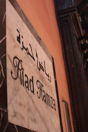 Eingang Riad Hamza