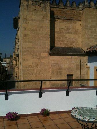 Hostal Azahar: View from terrace