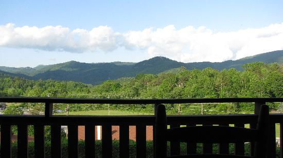 Knights Inn Dillard: View from Balcony