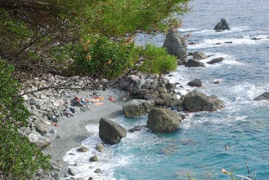 La Francesca: private beach