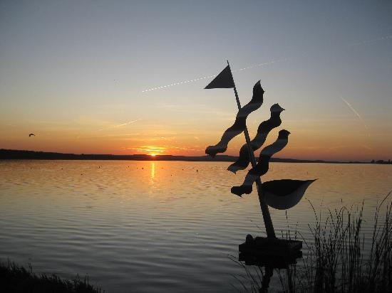 Steinhuder Meer : Kunstobjekt im Wasser