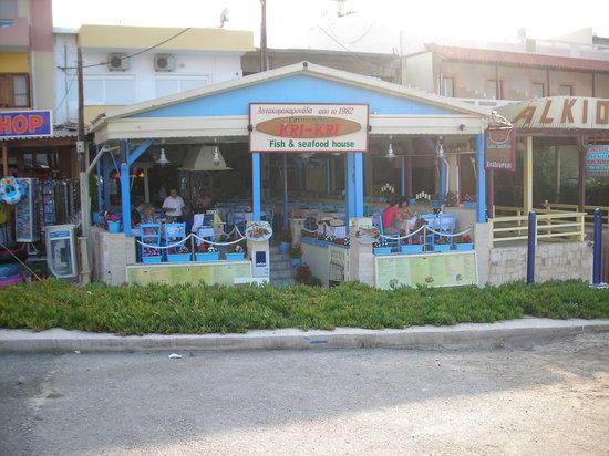 Kri-Kri: Restaurant frontage