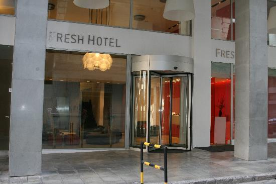 hotel fresh in athen: