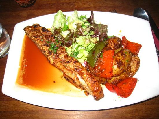 Cafe Mauresque: My lovely pork!