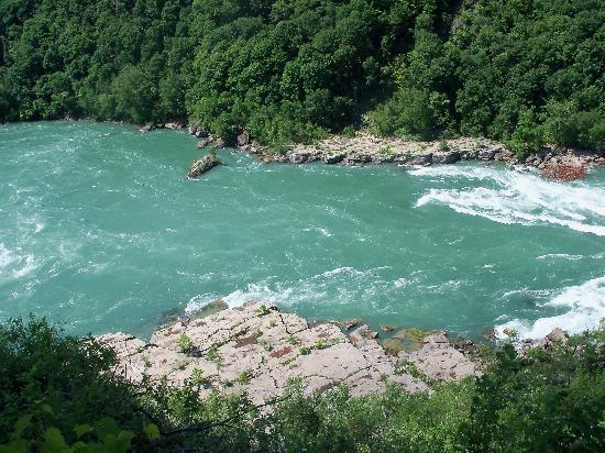 Whirlpool State Park: from the rim