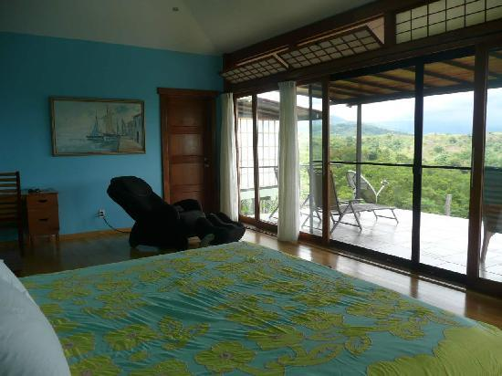 Caldera, Panama : our room