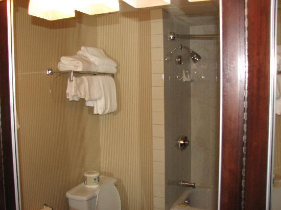 Surrey, Canada: Bathroom at the Sheraton Guildford