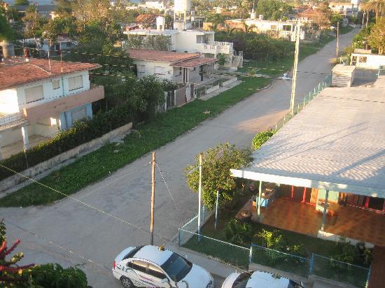 Guanabo, Cuba: unten die Taxizentrale