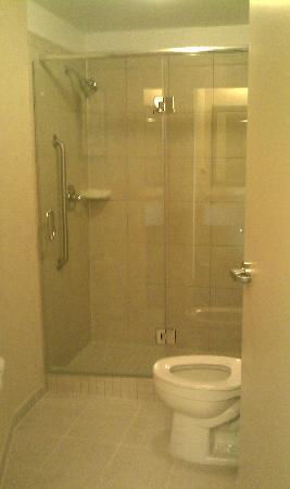 SpringHill Suites Cheyenne: Shower area