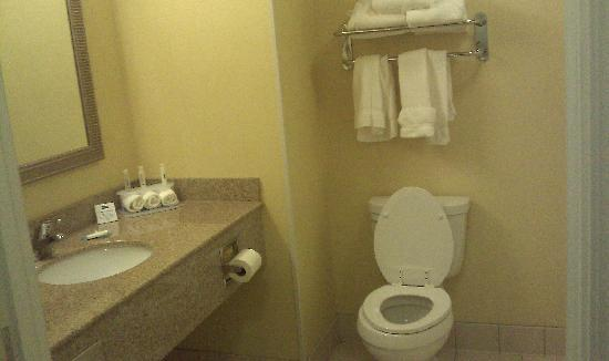 Holiday Inn Express Clovis Fresno Area: Bathroom
