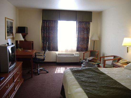 BEST WESTERN J. C. Inn: very good room, really comfortable