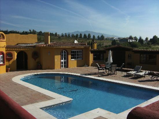 Finca Siesta: Pool, Poolwohnung und Terrasse