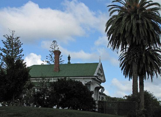Kauri House Lodge : 外観
