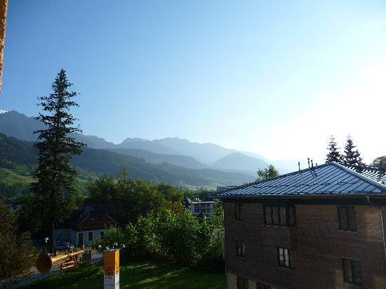 JUFA Hotel Schladming: Blick aus unserem Fenster