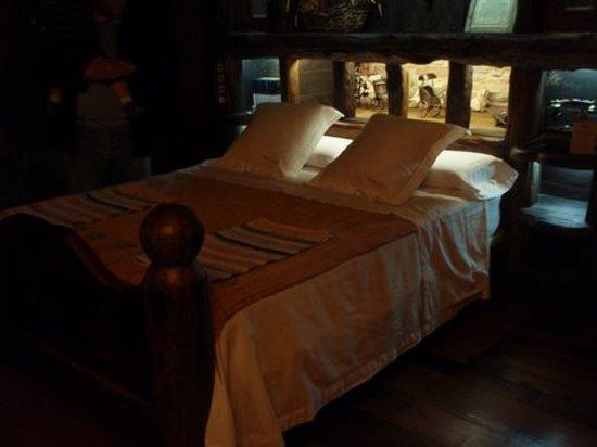 Palacio de Canedo: cama