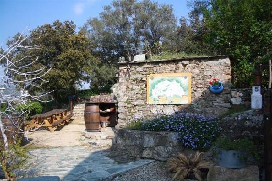 A Casa di Chiara: Grill au feu de bois