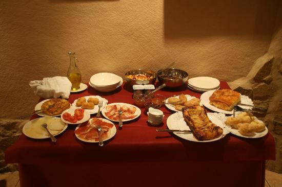 Rafales, Spain: Breakfast for two