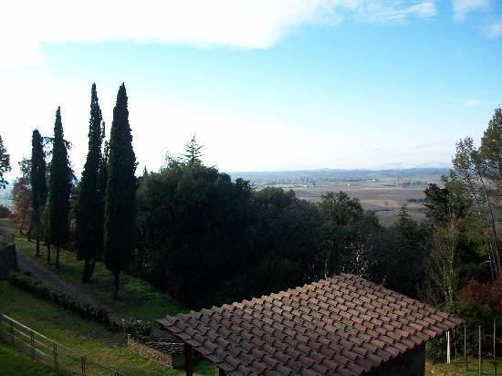 Villa Schiatti: panorama e parco