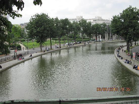Timhotel Paris Gare de l'Est: Canal Saint Martin