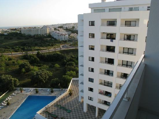 Janelas do Mar Apartments: Another View from our Balcony
