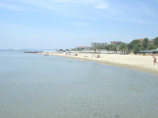 Hotel Panorama: Clear sea