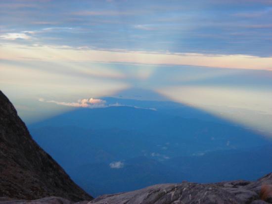 Mount Kinabalu: Shadow of Mt Kinabalu