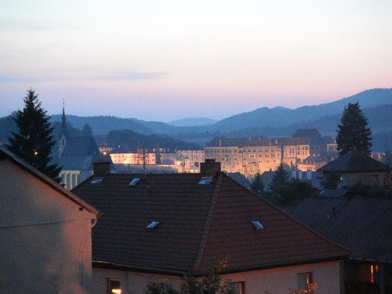 Penzion Krumlov: castle view