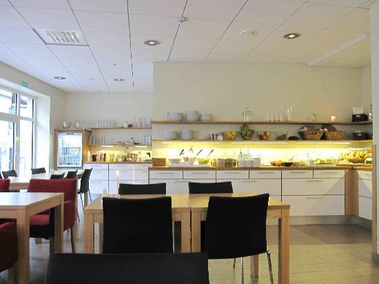 StayAt Lund: more of the breakfast area