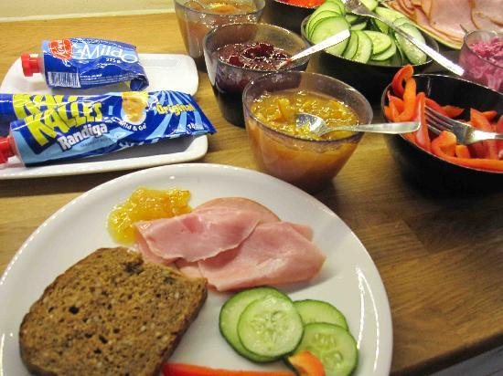 StayAt Lund: a typical breakfast here