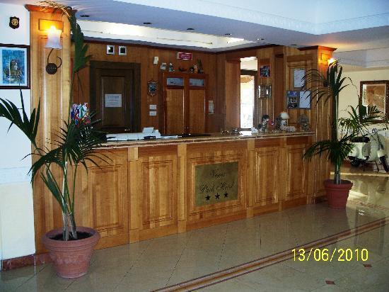 Venus Park Hotel: reception