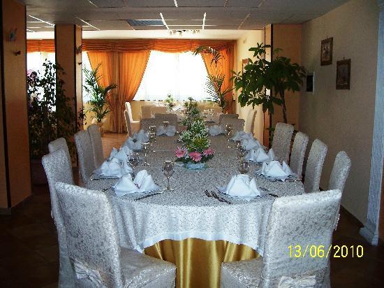 Venus Park Hotel: sala ristorante