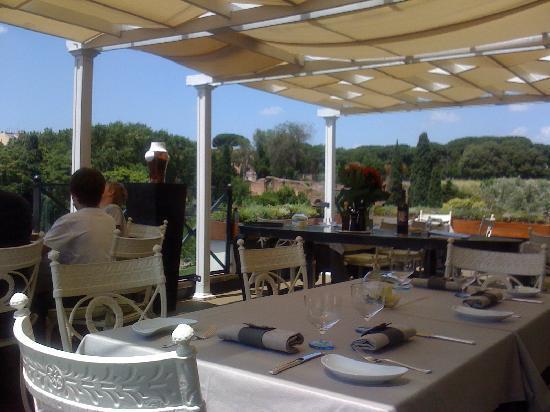 Palazzo Manfredi - Relais & Chateaux: terrazza