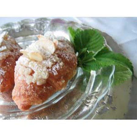 Salt Spring Island, Kanada: Almond Croissant