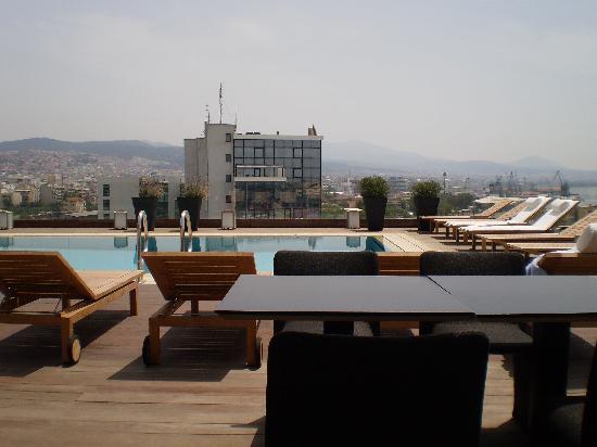The Met Hotel : the roofgarden