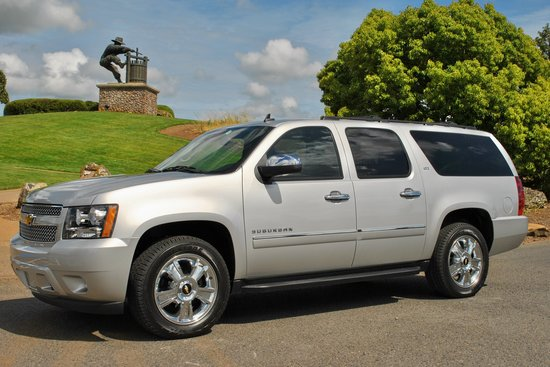 Perata Luxury Tours: Perata Luxury Car Services fully outfitted 2010 Chevrolet Suburban LTZ